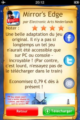 FreeAppMagic 2012 FreeAppMagic 2012 : 3 Applications temporairement gratuites chaque soir !