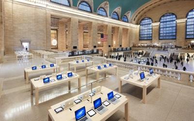 Grand central 2 LApple Store de Grand Central en 360° sur le site dApple !