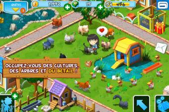 Green farm 2 Gameloft réanime votre ferme et ses animaux avec le nouveau Green Farm 2 (Gratuit)