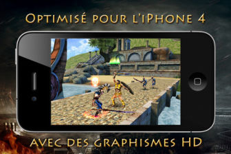 HOS Graphismes Hero of Sparta 2 de Gameloft devient gratuit !