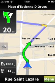 Mappy GPS Journée exceptionnelle chez AppVip : 5€ à gagner pour tout possesseur diPhone