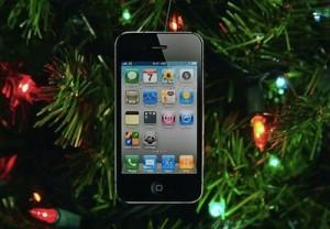 Noel iphone 300x208 Des pommes au pied du sapin?