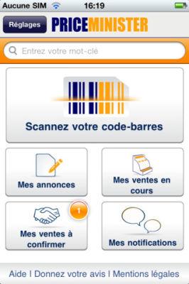 Scan vend 1 Scannez Vendez de Priceminister : La technologie mobile au service du eCommerce (Gratuit)