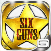 Test Six Guns Test de Six Guns: la ruée des cowboys sur lAppStore (gratuit)