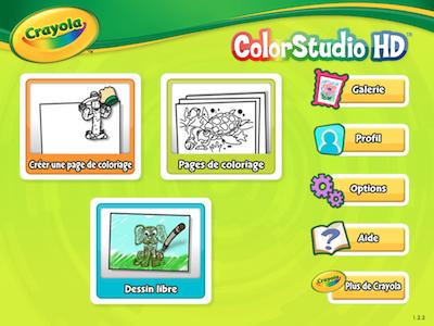TestCrayola006 Test du Crayola ColorStudio HD de Griffin: le coloriage nouvelle génération