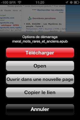 TestDownloadsPro 006 Test de Downloads Pro : Vos téléchargements au doigt et à loeil (1,59€)