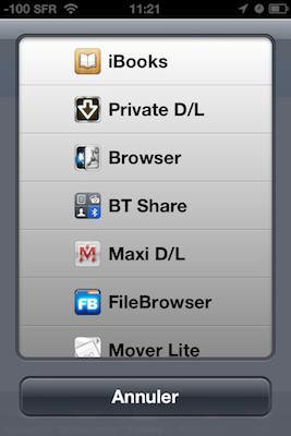 TestDownloadsPro 011 Test de Downloads Pro : Vos téléchargements au doigt et à loeil (1,59€)
