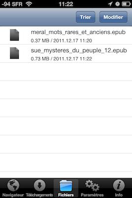 TestDownloadsPro 014 Test de Downloads Pro : Vos téléchargements au doigt et à loeil (1,59€)
