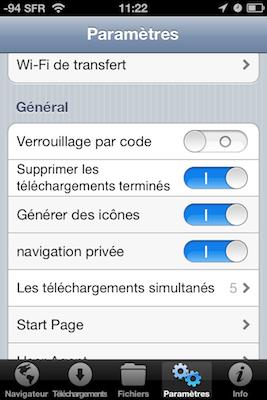 TestDownloadsPro 015 Test de Downloads Pro : Vos téléchargements au doigt et à loeil (1,59€)