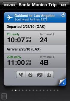 TripDeck Les App4Tops de lApp Store ce mardi 27 décembre 2011