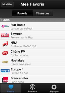 TuneInRadio Les App4Tops de lApp Store ce mercredi 28 décembre 2011