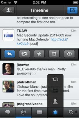 TweetBot 1 Lexcellent client Twitter TweetBot est en promotion à 0,79€