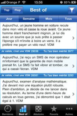 VDM Les App4Tops de lApp Store ce mercredi 28 décembre 2011