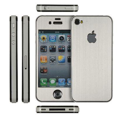 aluminize Silver Concours : Une protection SkinPlayer Aluminize pour iPhone 4 et 4S à gagner (44,95€)