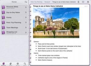 art23 300x218 Microsoft OneNote arrive sur iPad