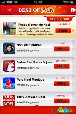 bestof 2 Le Best Of des meilleures applications de Noël est disponible (Gratuit)