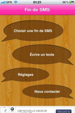 fin de sms Exclusivité : Lapplication Fin de SMS gratuite en partenariat avec App4Phone !