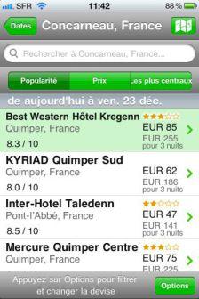 ht 3 ToucHotel : Réservation dhôtels depuis son iPhone (Gratuit)