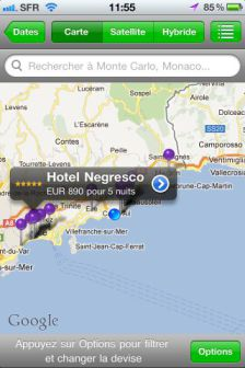 ht 6 ToucHotel : Réservation dhôtels depuis son iPhone (Gratuit)