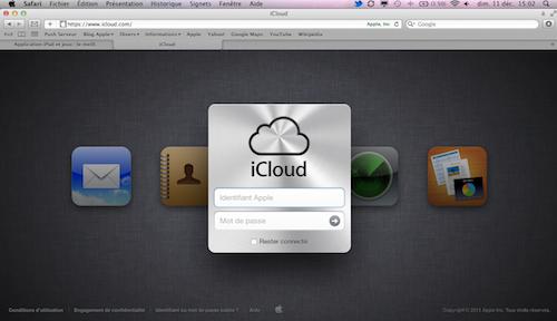 iCloud.com Accueil Tutoriel : Comment gérer ses données de iCloud sur son ordinateur