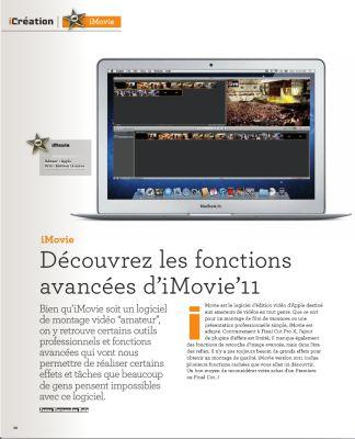 imovie Concours : 3 exemplaires du n°4 et 1 an dabonnement au magazine iLive à gagner (44€) !