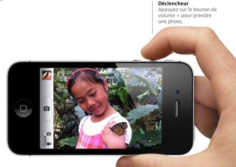 photo apple Astuce : Prendre des photos avec vos écouteurs sur iOS5