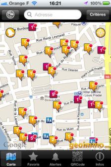 plan GeoImmo : Trouver un logement grâce à la réalité augmentée (Gratuit)