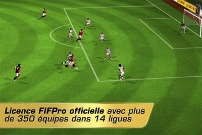 rf20122 Real Football 2012 est arrivé sur lApp Store