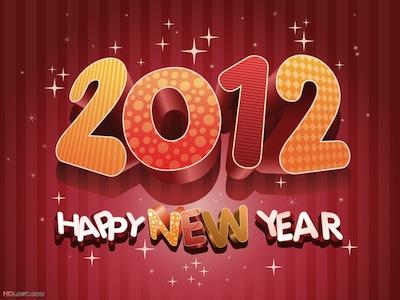 2012 App4Phone vous souhaite une bonne et heureuse année 2012