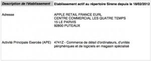 Apple Store 4 temps registre 300x122 Un Apple Store à la Défense, cest officiel et pour bientôt !
