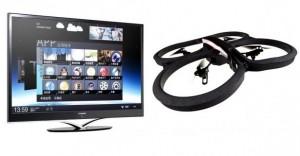 CES TV et DRONE