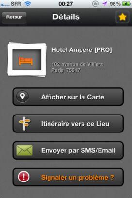 Details Lapplication WiFine est gratuite en partenariat avec App4Phone