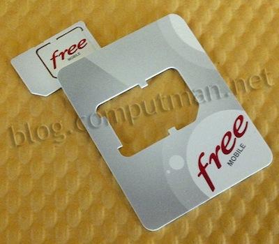 Free carte sil Free Mobile prépare son lancement avec une page Keynote