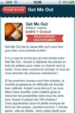 Freegli 5 Freegli : Le couteau suisse du jeu vidéo sur lApp Store (Gratuit)