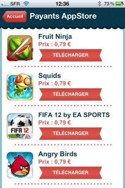 Freegli 6 Freegli : Le couteau suisse du jeu vidéo sur lApp Store (Gratuit)