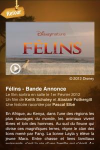 IMG 1144 200x300 MyFélins, une application amusante dédiée au nouveau film de Disney (Gratuit)
