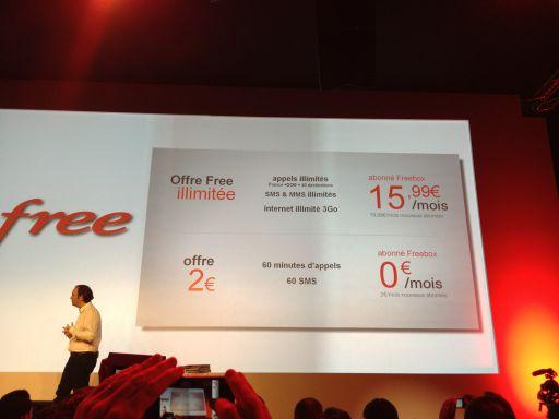 Offres Free Tarifs Free Mobile : La Révolution du mobile est en marche !