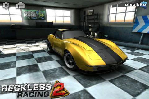 RR2 voiture Reckless Racing 2 arrivera sur lApp Store le 2 février 2012