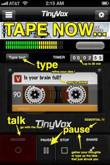 Tiny vox Les bons plans de lApp Store ce samedi 14 janvier 2012