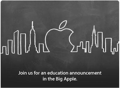 apple invitation Apple : un Special Event dédié à léducation le 19 janvier