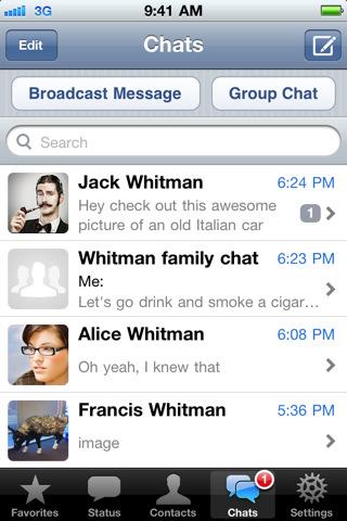 art18 Mais où est WhatsApp Messenger?