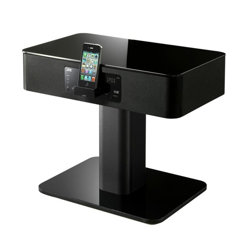 une table de nuit quip e d 39 un dock iphone ou l 39 inverse. Black Bedroom Furniture Sets. Home Design Ideas