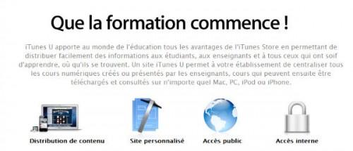 itunes U def1 500x215 Le résumé de la keynote Apple du 19 janvier 2012