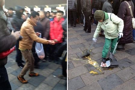 lancement iphone4 chine4 LiPhone 4S provoque des émeutes en Chine