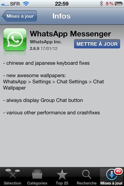 majwhatsapp WhatsApp Messenger : le retour