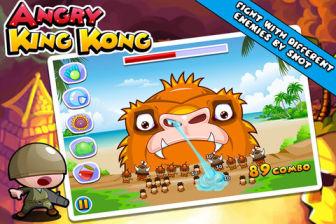 Angri king kong  Les bons plans de lApp Store ce mardi 13 mars 2012
