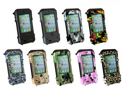 AquaTEK couleur e1329762195147 Aqua Tek: la protection iPhone pour les baroudeurs!