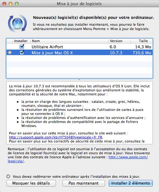 Capture décran 2012 02 01 à 23.01.57 OSX Lion mis à jour en version 10.7.3