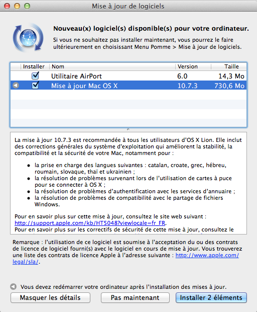 Capture décran 2012 02 01 à 23.01.57 OSX Lion mis à jour en version 10.7.3