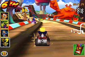 CrashBandicoot1 Crash Bandicoot Nitro Kart 3D en promotion à 0,79 €